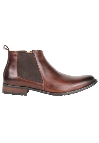Tomaz brown Tomaz HC001 Formal Boots (Coffee) E46D8SHC45B3F0GS_1