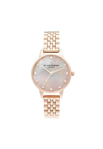 Olivia Burton gold Olivia Burton Classics Rose Gold Women's Watch (OB16SE10) 4A2C5AC70FC773GS_1