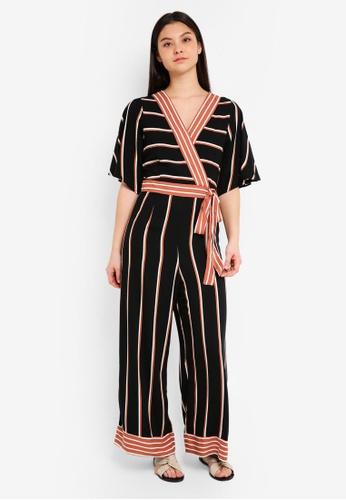 Cotton On multi Woven Kassie Kimono Sleeve Jumpsuit C34D9AA076E549GS_1