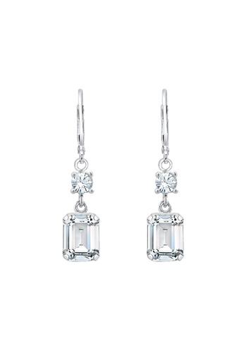 Elli Germany silver Elli Germany Earring Geo Square Swarovski® Crystals 925  Sterling Silver 2D9E6AC9005DA8GS 1 0330d7d79186