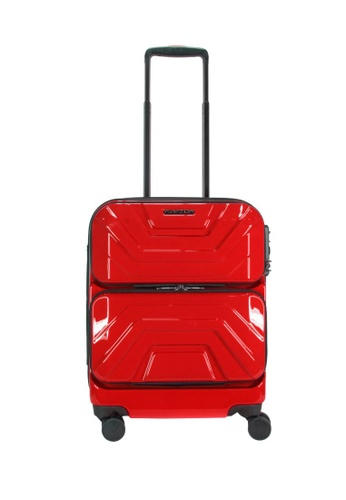 """Lushberry red Aviator Hardcase Cabin Size Luggage-19"""" 87703ACF3D9840GS_1"""
