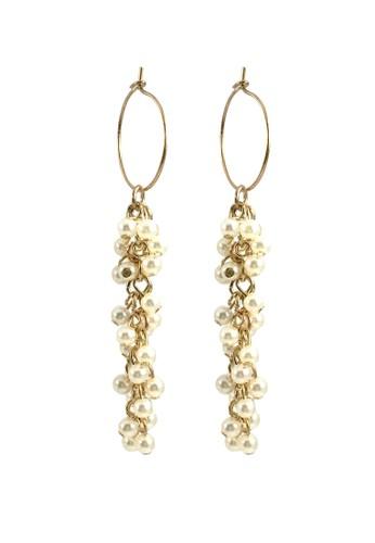 La Miina gold Cassidy Drop Earrings C6DF1ACE5694C8GS_1