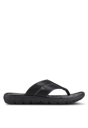 Bata black Slip On Sandals 30406SH903A057GS_1