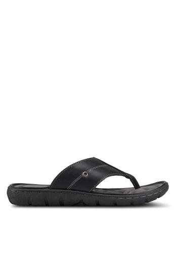 Bata black Slip On Sandals 30406SH903A057GS_1