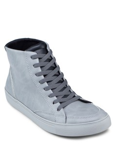 High Top Laced Up Sneakers