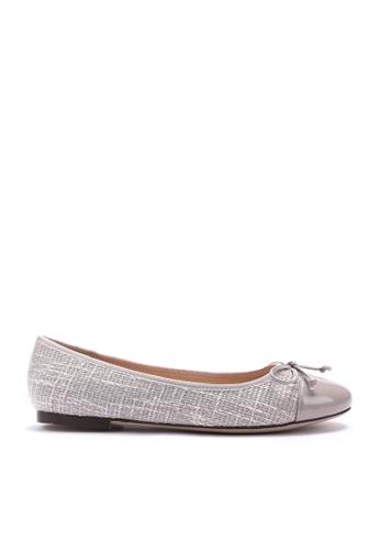 Twenty Eight Shoes 紫色 花呢布芭蕾舞鞋 889-1 9C8C8SH411FD47GS_1