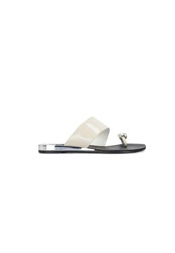 prettyFIT beige Beige Crystal Sandal SW-791 PR787SH0GO9ASG_1