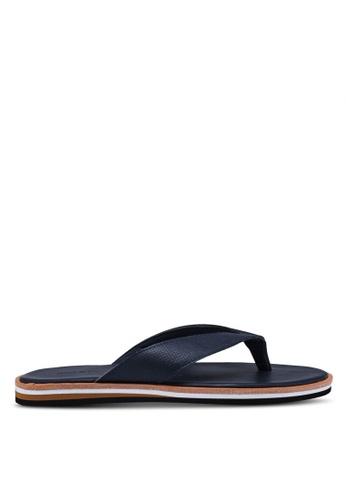 Call It Spring navy Aadorwen Flat Sandals 80943SH26B31B4GS_1