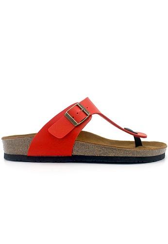 SoleSimple red Berlin - Red Sandals & Flip Flops 416A5SHBD0DFB0GS_1