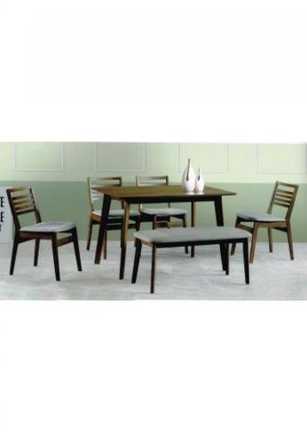 Choice Furniture brown Choice Furniture - Dion Dining Set 9BA0DHL45DCF8DGS_1