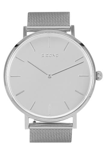 PICONO Watches silver MIRROR T Minimalist Fashion Mirror Dial Watch PI771AC2VURNHK_1