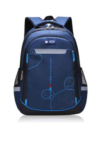 Twenty Eight Shoes navy VANSA Nylon Backpacks VAK-Bp1901 48DEDKCC391B1FGS_1