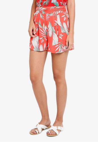 Vero Moda red Maharete Shorts 91BE9AA19DF152GS_1