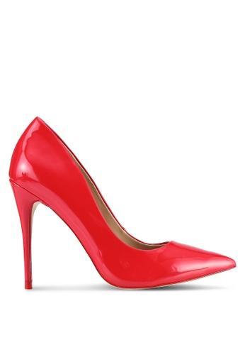 ALDO red Stessy Heels AL087SH0S3USMY_1
