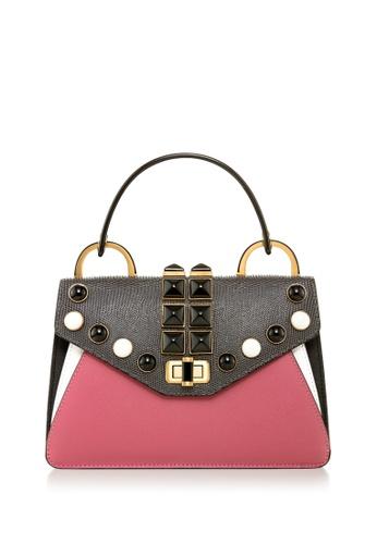 Braun Buffel pink Kelis Top Handle Bag 20CB0ACA24ACE0GS_1