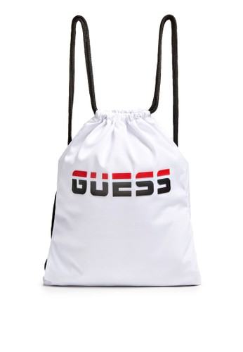 Guess white Logo Backpack 37379ACE171CCEGS_1
