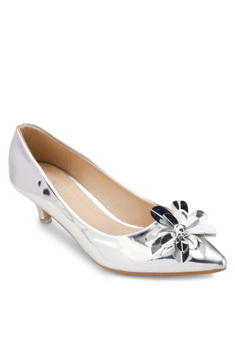 Occasion Flower Detail Heels