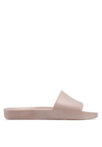 Melissa 粉紅色 Melissa Beach Slide Ad Sandals ME121SH0STK2MY_1
