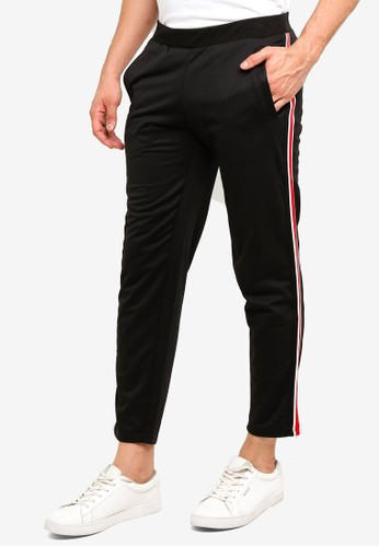OVS black Joggers With Striped Bands E4D4BAA4A34968GS_1