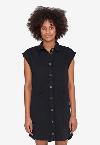 Noisy May black Alma Cap Sleeve Dress BCEFAAA2BC6FA4GS_1