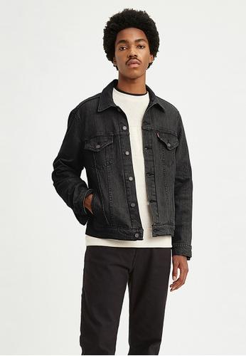 Levi's black Levi's Vintage Fit Trucker Jean Jacket 77380-0013 EEEFCAAA8F28A8GS_1