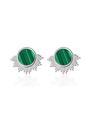 SUNRAIS silver High quality Silver S925 silver simple design earrings 0B3F5ACA846448GS_1