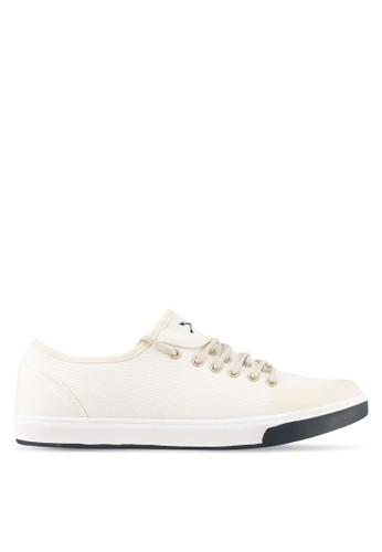 JAXON white Kanvas Sneakers 52ACBSH857FC82GS_1