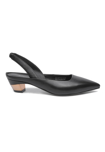 Byford black Maud Sling-back Heels B3978SHD588C85GS_1