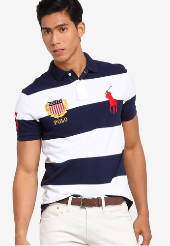 POLO RALPH LAUREN Men Custom Slim Fit Mesh Polo Shirts NEW NWT