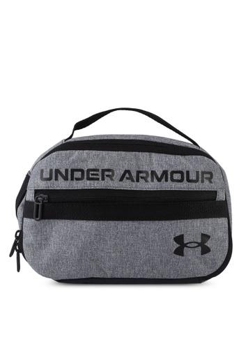 Under Armour grey Contain Travel Kit Bag 620E5AC4967B25GS_1