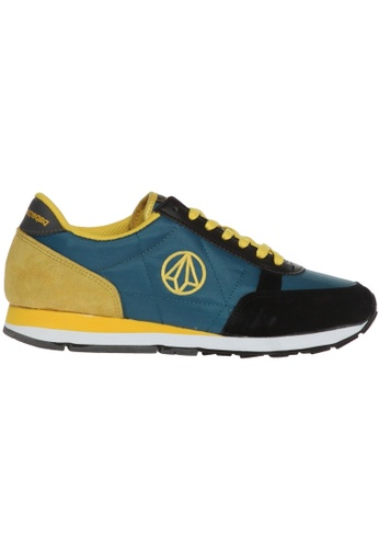 paperplanes yellow and green Paperplanes-1107 Fashion Breathable Walking Camp Sneakers Shoes US Women Size PA355SH75PJSSG_1