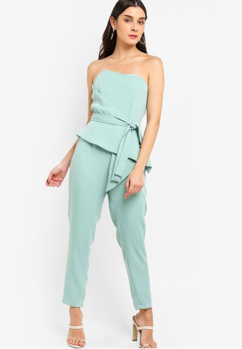 Lavish Alice green Origami Folded Jumpsuit 17548AAA8BABAAGS_1