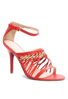 Miezko Lia Vitello Ankle Strap Heels