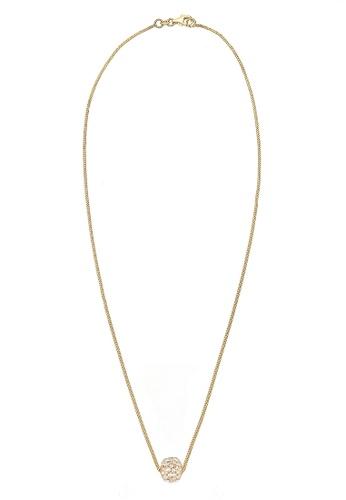 Elli Germany gold Necklace With Yellow Gold Swarovski® Crystals EL474AC0RFH6MY_1