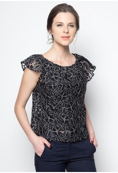 Sitti Lace Off Shoulder Top