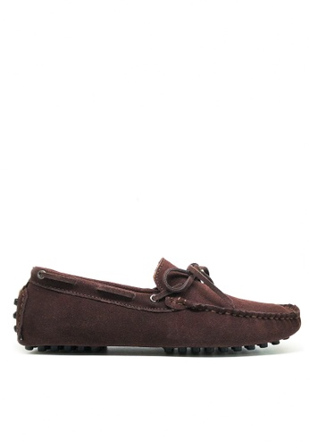 Twenty Eight Shoes brown Suede Loafers MC025 A5974SH2E18241GS_1