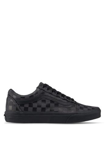 VANS black Old Skool High Density Sneakers AD8C4SH8F356DFGS_1