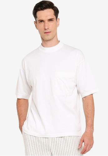 niko and ... white Boxy Pocket T-Shirt 6277FAA3D91794GS_1