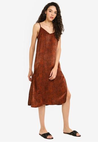 Factorie 多色 綢緞洋裝 3DD32AA5EB27D8GS_1