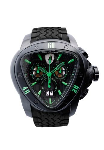 Tonino Lamborghini black Tonino Lamborghini Spyder Men's Watches TL1203 TO574AC0VAQ4ID_1