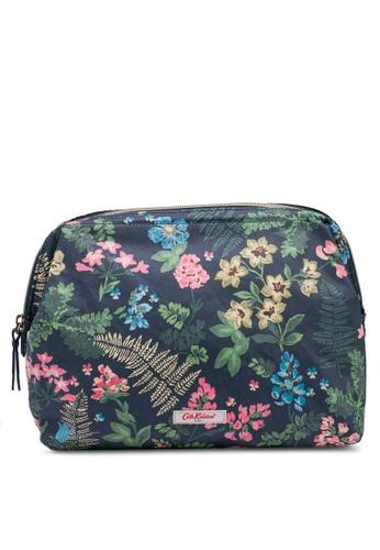Cath Kidston navy Twilight Garden Frame Wash Bag C7C95AC1107B03GS_1