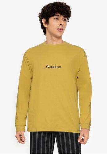 niko and ... yellow Long Sleeve Graphic T-Shirt 60E79AA91BEC56GS_1
