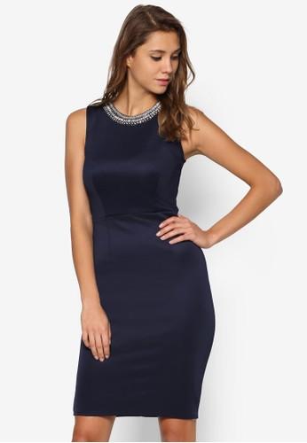 鍊飾鉛筆洋裝、 服飾、 Love Your CurvesDorothyPerkins鍊飾鉛筆洋裝最新折價