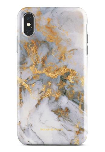 Polar Polar white Mist Marble Dual-Layer Tough Case Glossy For iPhone XS Max A8B7DAC602ACD1GS_1