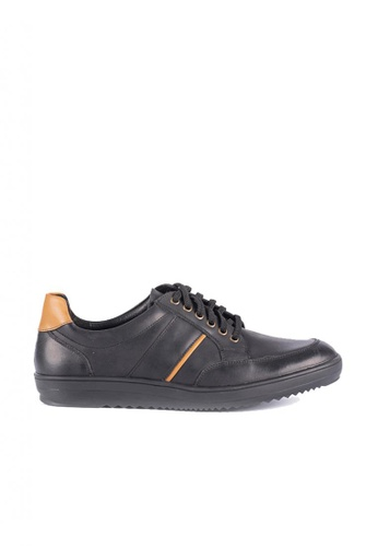 Bristol Shoes black Steven Sneaker B99BESHAB47D29GS_1