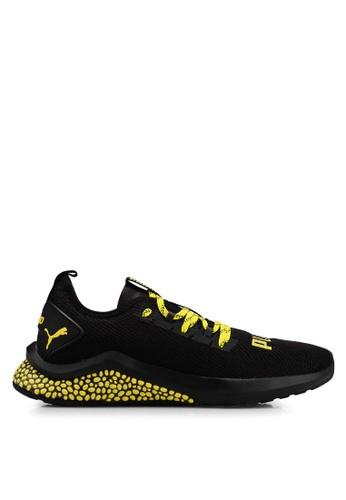 Puma black Run/Train Hybrid NX Caution Shoes FFA28SH07A2722GS_1