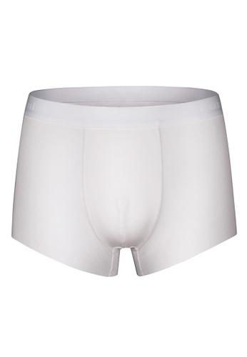 Tani white Tani Freeform Men's MicroModal® AIR Trunks 29309 1FFB5AA29B9F81GS_1