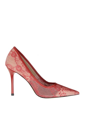 Twenty Eight Shoes red Sexy Lace Evening and Bridal Shoes VP18531 5A8EBSHF735076GS_1
