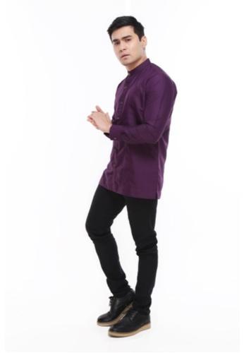 Amar Amran purple Kurta Raihan CAD56AAEB74D11GS_1