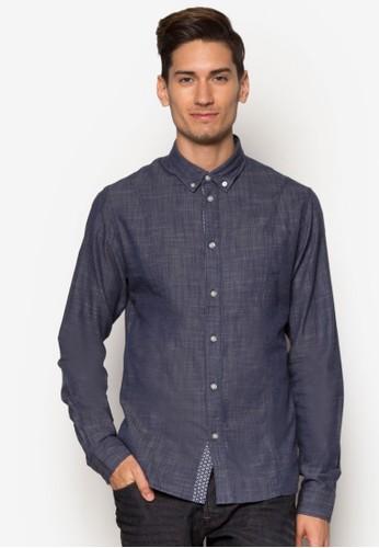 esprit taiwanEdgon 簡約長袖襯衫, 服飾, 服飾